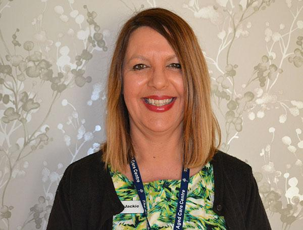 Jackie Paull, the Resident Services Manager.