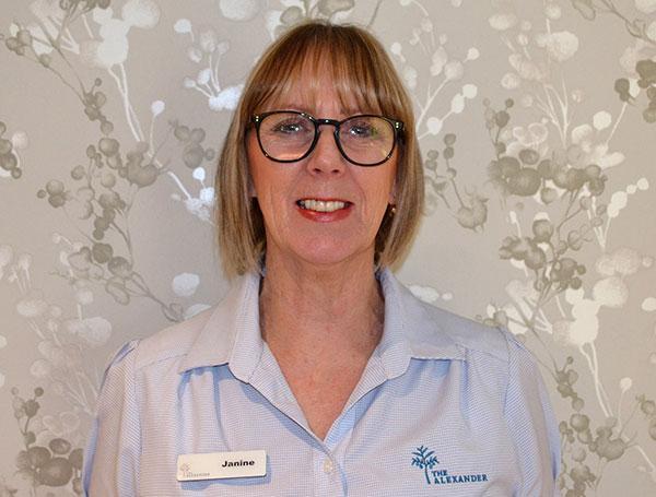 Janine Butler, an administration staff member.