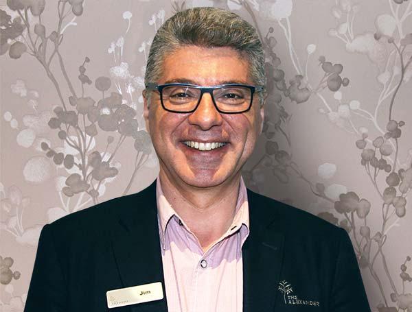 Jim Saisanas, a director at The Alexander Aged Care Centre.